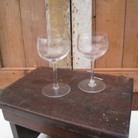 Likeur glas glazen 12,5 cm hoog