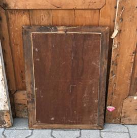 Spiegel 44 x 60 antiek origineel hout lijst