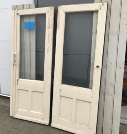 Oude deuren hout 180 cm hoog 1900 1940