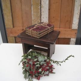 Oude boeken stapeltje decoratie