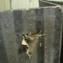 Kamerscherm 3 delen origineel 210 breed 170 hoog brocante