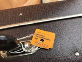 Koffer bruin 65 x 43 x 18 origineel