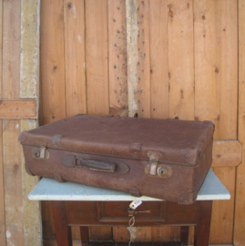 Koffer bruin 70 x 43 x 18 origineel decoratie