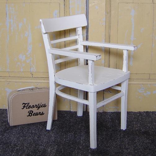 Kinderstoel Wit Hout.Kinderstoel Wit Brocante Stoeltje Hout Verkocht Sorry