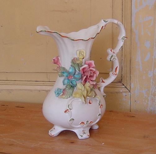 Kan schenkkan Lassaro Italy brocante rozen decoratie