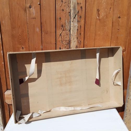 Binnenbak 85,5 x 50 cm hutkoffer koffer origineel