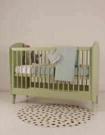 babyledikant retro groen