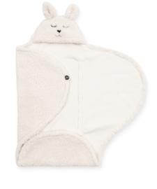 Wikkeldeken Bunny off white