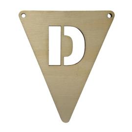 houten vlag D