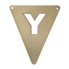 houten vlag Y