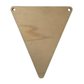 houten vlag leeg