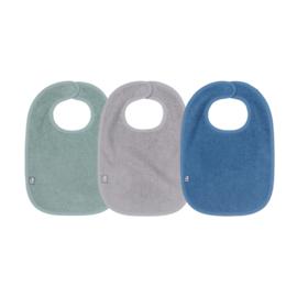 slab 3-pack badstof green/grey/blue
