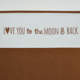 laken love you to the moon en back camel