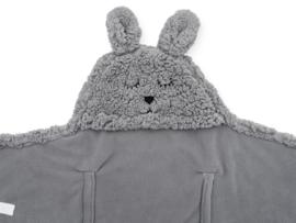 Wikkeldeken Bunny storm grey