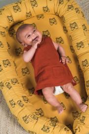 Babynestje TIger mustard