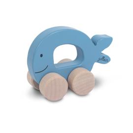 Speelgoedauto Sea vis blue
