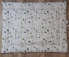 boxkleed tipi cactus groen