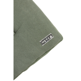 boxkleed knit basic forest green