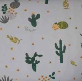 Stof jersey cactus mint