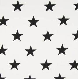 vlag wit zwart ster, vanaf