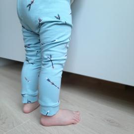legging  babybroekje pijltje blauw