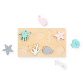 Puzzel hout Sea animals