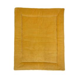 boxkleed knit basic okergeel