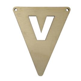 houten vlag V