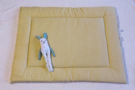 boxkleed wolk triangel geel