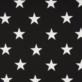 vlag zwart wit ster, vanaf