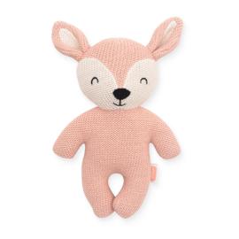 Knuffel Deer pale pink