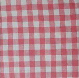 vlag ruit roze, vanaf