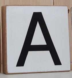 houten letterblok
