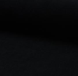 Velours stof nicky zwart