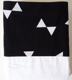 lakentje zwart wit strik
