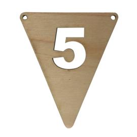 houten vlag 5