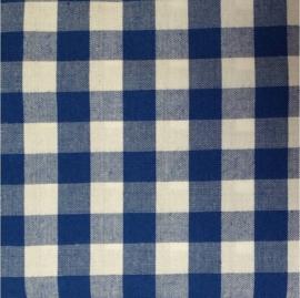 vlag kobalt blauw ruit, vanaf