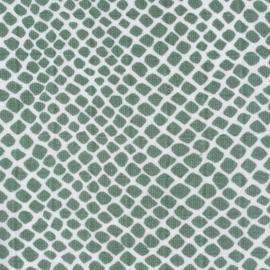 Hydrofieldoeken Snake ash-green