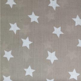 vlag taupe ster, vanaf
