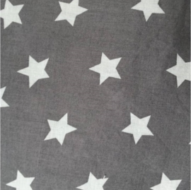 vlag ster grijs, vanaf