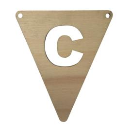 houten vlag C