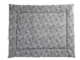 Boxkleed lama grijs mint