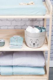 mandje paperbag little lion grijs