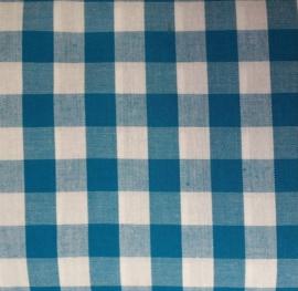 vlag ruit turquoise, vanaf