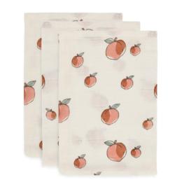 hydrofiel washandje Peach