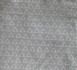 vlag driehoek mint, vanaf