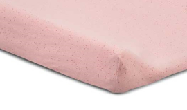 waskussenhoes mini dots, blush pink