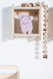 knuffelmonster confetti vintage pink