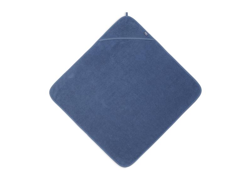 badcape badstof jeans blue