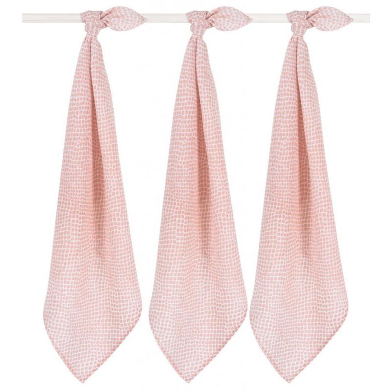 Hydrofieldoeken Snake pale-pink